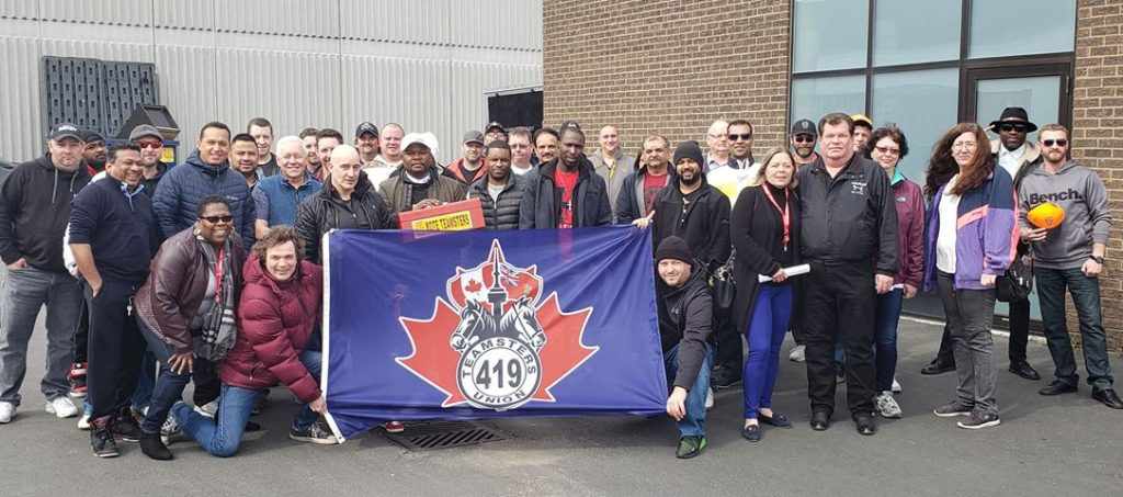 Union members at Novacold Logistics in Ontario voted to ratify a new 5-year collective agreement by over 98%