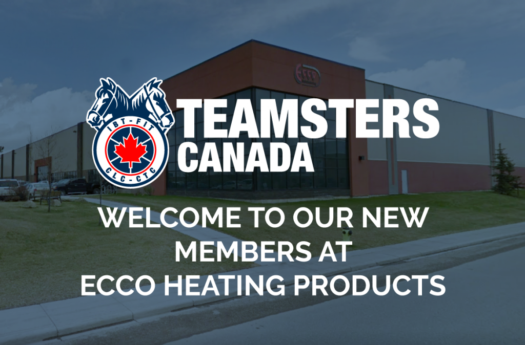 Two Hundred Workers At Ecco Heating Vote To Join Teamsters