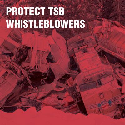 Protect TSB Whistleblowers
